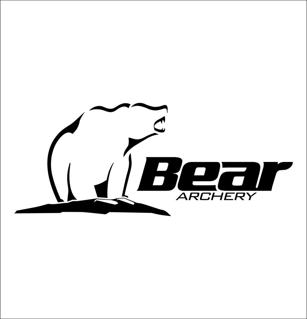 Bear Archery decal, sticker, hunting decal