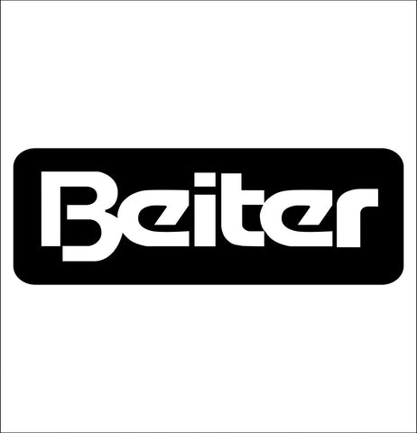 Beiter decal, fishing hunting car decal sticker