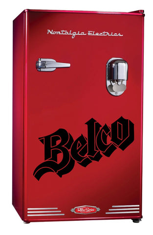 Belco decal, beer decal, car decal sticker
