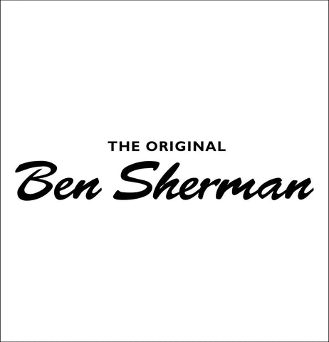 Ben Sherman decal, car decal sticker