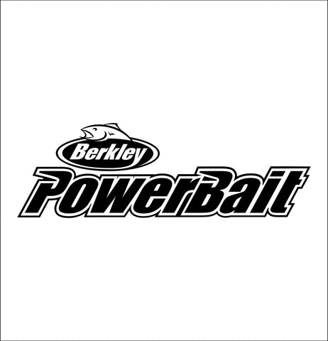 Berkley Powerbait decal, sticker, hunting fishing decal