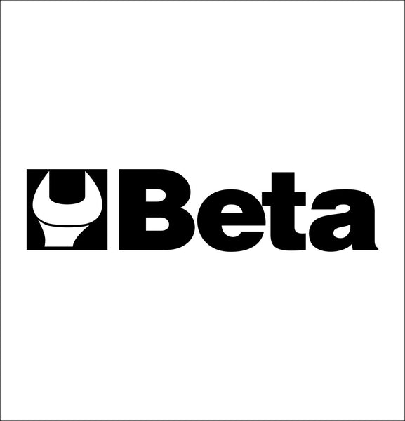beta tools decal, car decal sticker