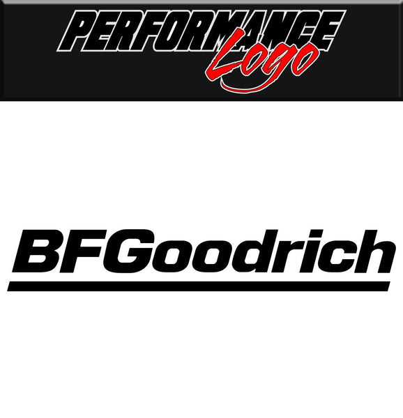 BF Goodrich decal performance decal sticker