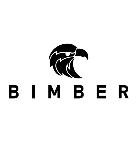 Bimber decal, vodka decal, car decal, sticker