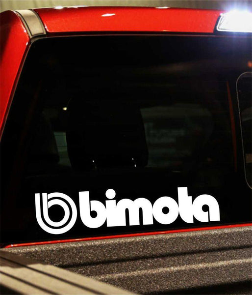 bimota performance logo decal - North 49 Decals