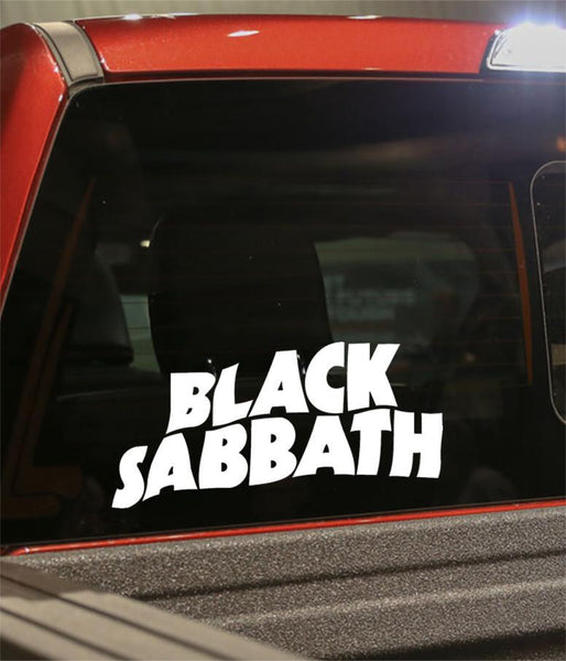 black sabbath band decal - North 49 Decals