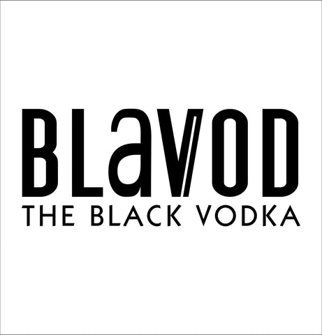 Blavod decal, vodka decal, car decal, sticker