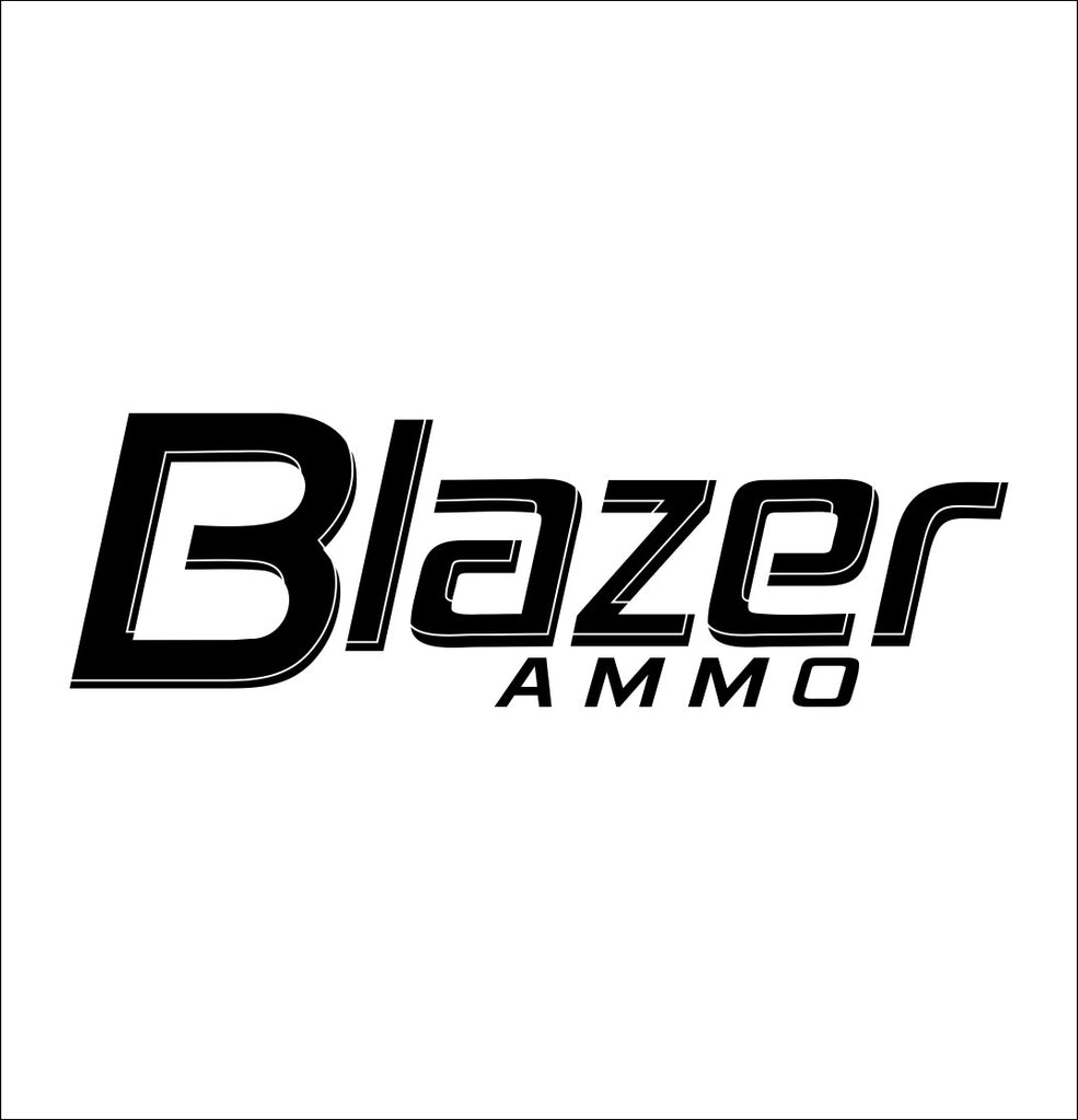 Blazer Ammo decal, sticker, car decal