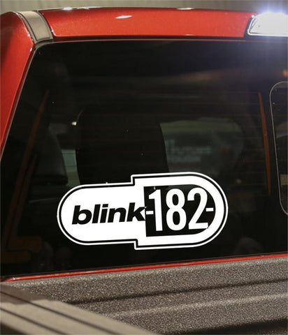 blink-182 band decal - North 49 Decals