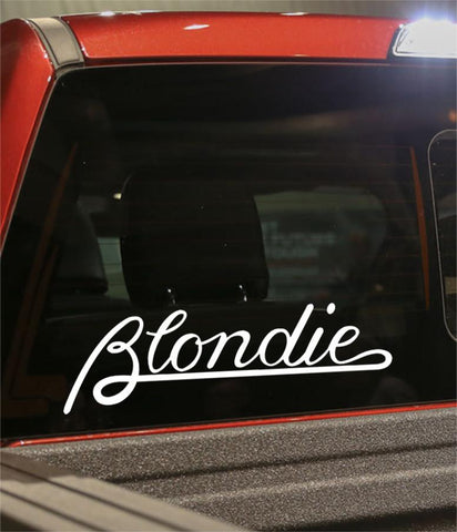 blondie band decal - North 49 Decals