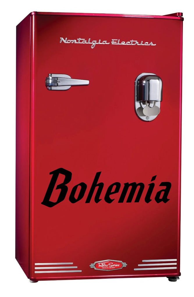 Bohemia decal, beer decal, car decal sticker