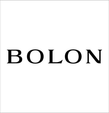 Bolon decal, car decal sticker