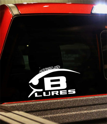 bomber Lures decal, car decal, fishing sticker