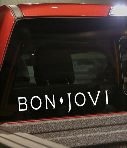 bon jovi band decal - North 49 Decals