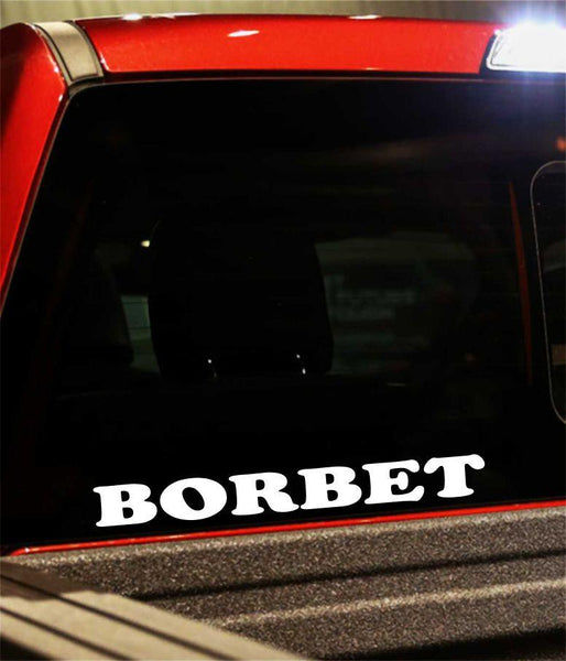 borbet performance logo decal - North 49 Decals