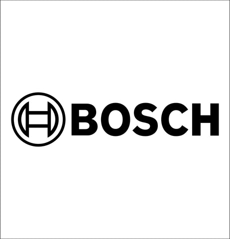 bosch decal, car decal sticker