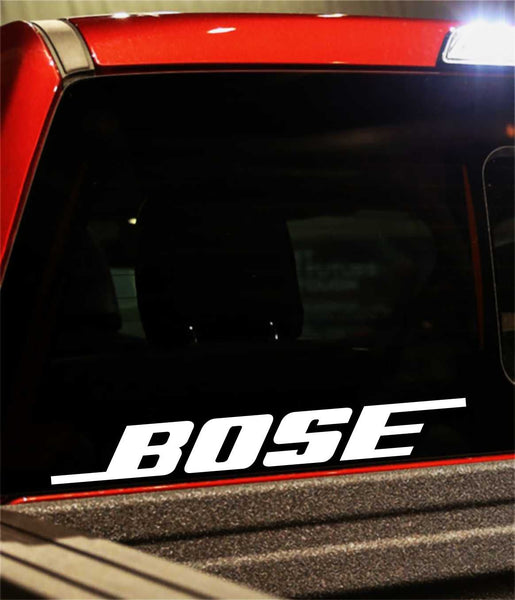 Bose decal, sticker, audio decal