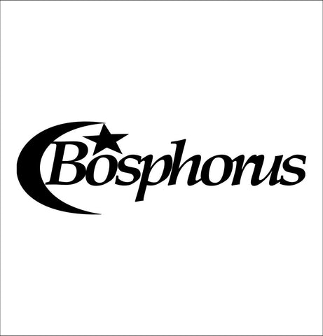 Bosphorus Cymbals decal, music instrument decal, car decal sticker