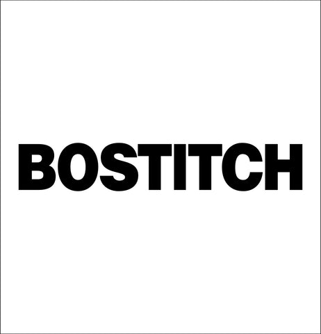 bostitch decal, car decal sticker