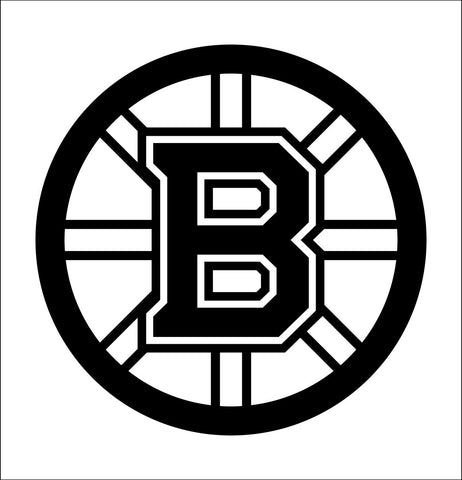 Boston Bruins decal, sticker, nhl decal