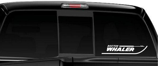 Boston Whaler decal, sticker, car decal