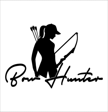 bow hunter 3 hunting decal - North 49 Decals