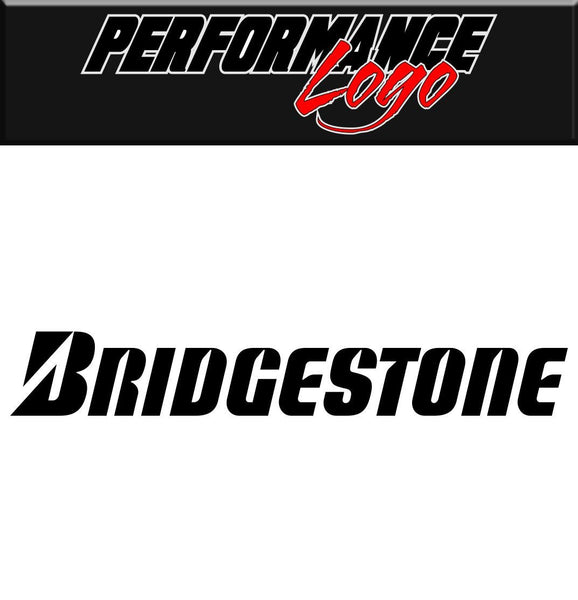 Bridgestone decal performance decal sticker