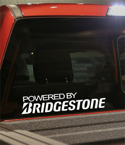 powered by bridgestone golf decal - North 49 Decals