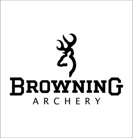 Browning Archery decal, sticker, car decal