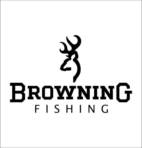 Browning Fishing decal, sticker, car decal