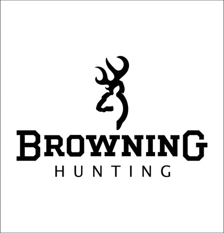 Browning Hunting decal, sticker, car decal