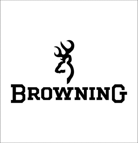 Browning decal, sticker, car decal