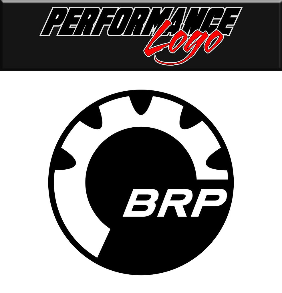 BRP decal performance decal sticker