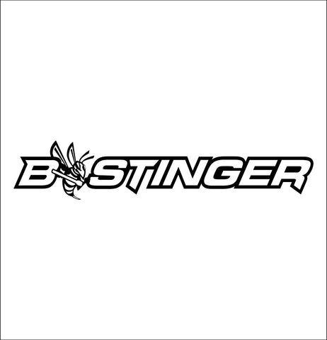 Bee Stinger  decal, fishing hunting car decal sticker