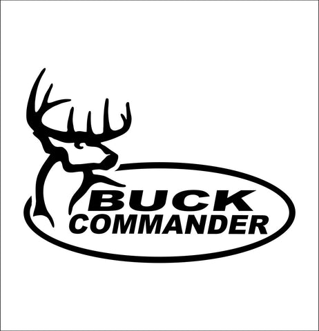 Buck Commander decal, sticker, car decal