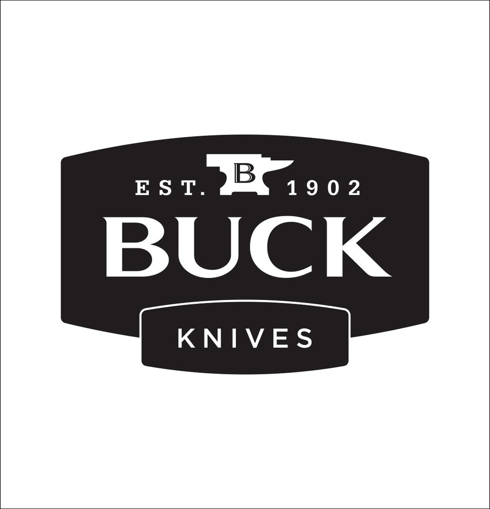 Buck Knives decal