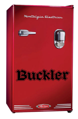 Buckler decal, beer decal, car decal sticker