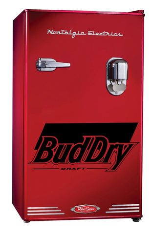 Bud Dry decal, beer decal, car decal sticker