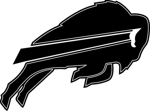 buffalo bills car window decal