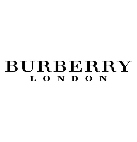 Burberry decal, car decal sticker