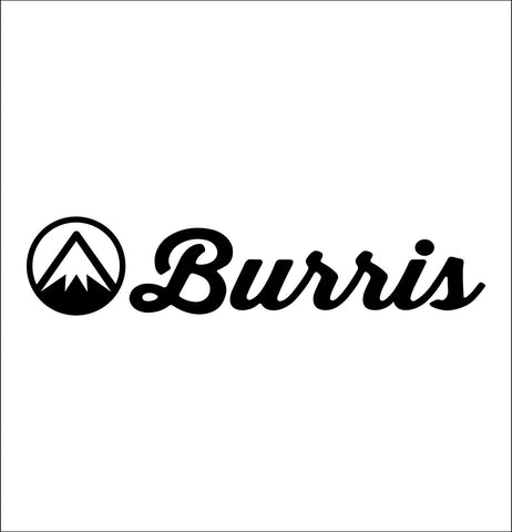 Burris Optics decal, sticker, car decal
