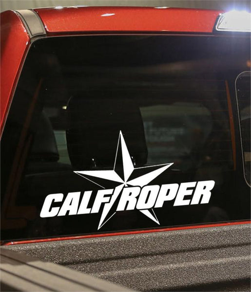 calf roper star country & western decal - North 49 Decals