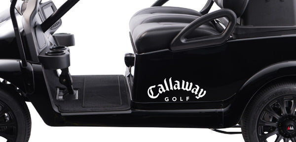 Callaway decal, golf decal, car decal sticker