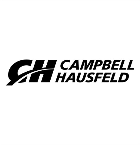 campbell hausfeld decal, car decal sticker
