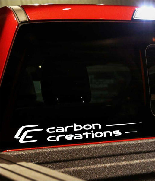 carbon creations performance logo decal - North 49 Decals