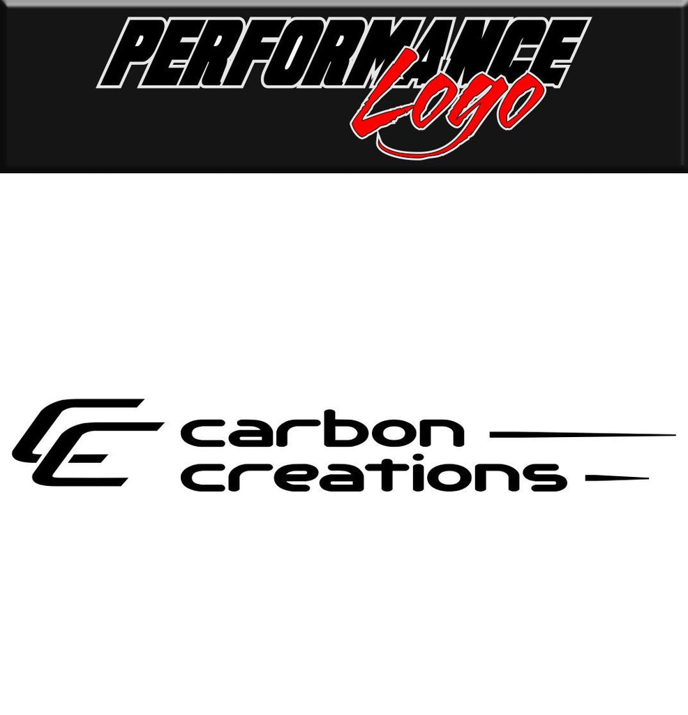 Carbon Creations decal performance decal sticker
