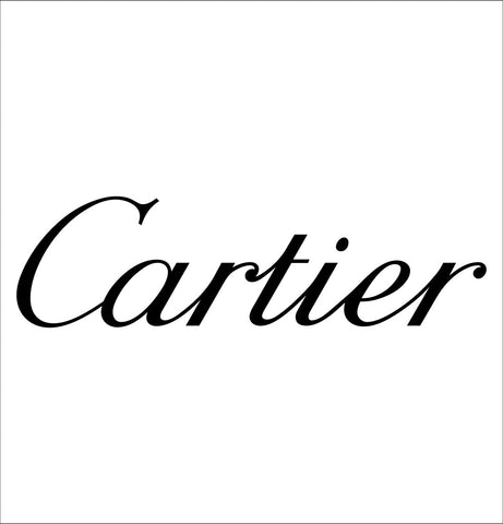 Cartier decal, car decal sticker