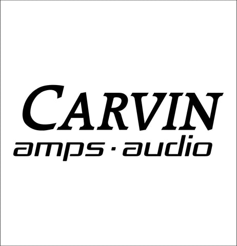 Carvin Amps decal, music instrument decal, car decal sticker