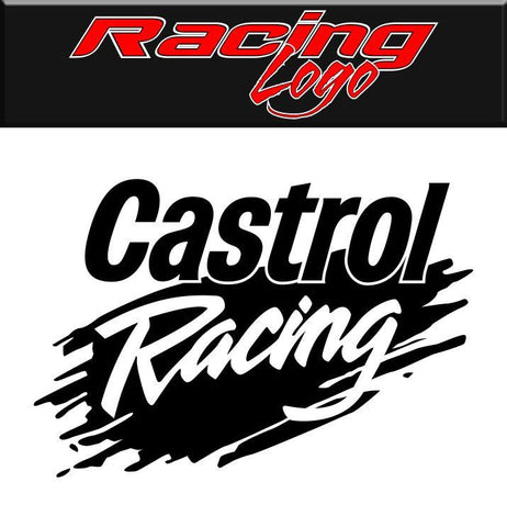 Castrol Racing decal, racing sticker