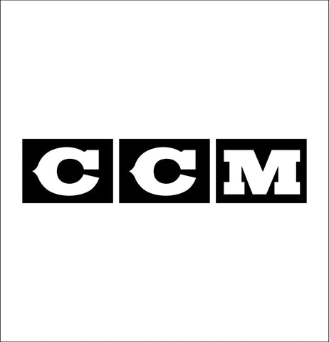 CCM decal, car decal sticker